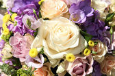 Pastel wedding bouquet — Stock Photo