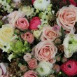 Pink and white bridal arrangement — Stock Photo #45036229