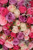 パステル調の結婚式の花 — ストック写真