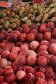 Fruit at a French market — Stock Photo
