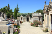Old cemetery in the Provence — Stok fotoğraf