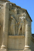 The triumphal arch of Glanum, detail — Stock Photo
