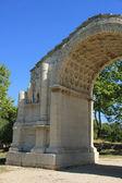 The triumphal arch of Glanum — Stock Photo