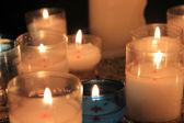 Gebed kaarsen — Stockfoto