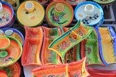 Keramiky na trhu — Stock fotografie