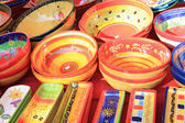 Colorful pottery — Stock fotografie