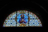 Vitral iglesia — Foto de Stock