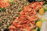 Fish at a market — Stock Photo