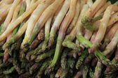Asparagus at the market — Stock Photo