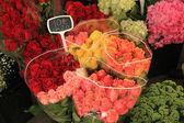 Roses at a market — Stock Photo
