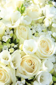 White wedding arrangement — Foto de Stock