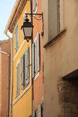 Provencal facade — Stock Photo
