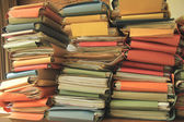 Pile of files — Stock Photo