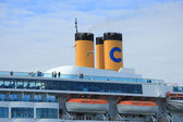 Velsen the Netherlands,  june 13rd, 2014:  Costa Neo Romantica c — Stock Photo