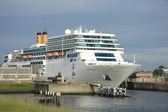 Ijmuiden, the Netherlands,  june 13rd, 2014:  Costa Neo Romantic — Stock Photo