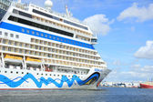 Velsen the Netherlands, June 22nd, 2014 :Aida Stella on North S — Stock Photo