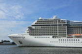 Velsen, the Netherlands, July 7th, 2014 : MSC Magnifica — Stock Photo
