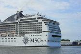 フェルセン、オランダ、2014 年 7 月 7 日: msc の magnifica — ストック写真