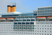 Detail of a Cruise Ship — Stock Photo