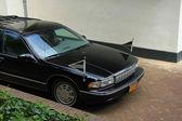 Black hearse — Stock Photo