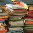 Stacked files — Stock Photo #50694601