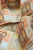 50 euro banknotes — Stock Photo