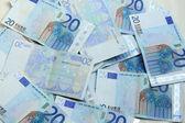 Twenty euro notes — Stock Photo