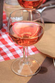 Rose wine — Stock Photo
