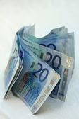 20 euro banknotes — Stock Photo