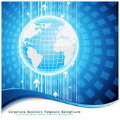 Global business. Vector. — Stock Vector