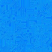 Seamless pattern. Computer circuit board. — Stock Vector