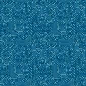 Nahtlose muster. computer-platine. — Stockvektor