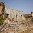 Mining area la zarza, traces historic Mining - Stockfoto