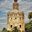 Tower of gold, Seville - Stock Photo