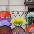Tradicional colorful Spanish Fans - Foto de Stock