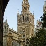 La Giralda Tower in Seville, Spain — Stock Photo