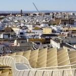 Cityscape of Seville — Stock Photo