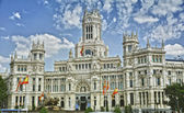 The Plaza de Cibeles in Madrid — Stock Photo