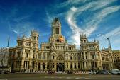 The Plaza de Cibeles in Madrid — Stock Photo