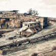 Abandoned mines of Tharsis - Stock Photo