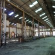 Stock Photo: Old Industrial mining factory
