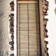 Old windows blinds — Stock Photo