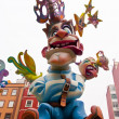 The Las Fallas festival in Valencia — Stock Photo