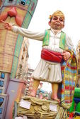 Valencia, Fallas festival — Stock Photo