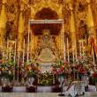 图库照片: The Virgin of El Rocio