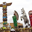 The Cabalgata los Reyes Magos, Spain - Stockfoto