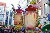 A cabalgata los reyes magos, espanha — Foto Stock