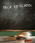 Back to school concept still life — Stock Photo