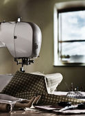 Sewing machine — 图库照片