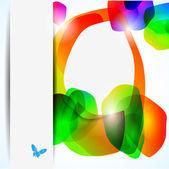 Abstrait coloré — Vecteur